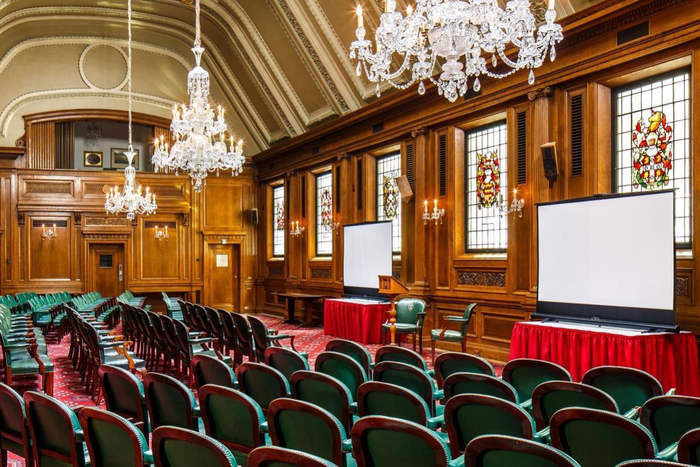 Livery Hall set theatre style